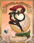 Tarot 0.The Fool by SweetCollapse