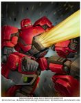War for Cybertron: Warpath by BryanSevilla