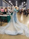 Male Elsa Cosplay at Supercon 2 by KrazyKari