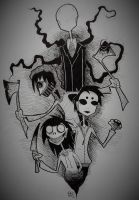 Creepypasta by SchizophrenicFrankie