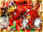 Knuckles Wallpaper by Chaps7
