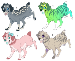 Dog Point Adopts -CLOSED by PoodleFradoodle