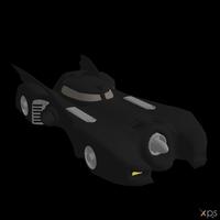 Batmobile 1989 by Postmortacum
