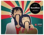SasuHina Month 2014 |Day 17 | Moustache by vindel14