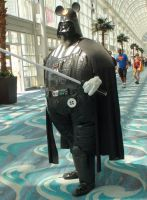 Darth Vader became a big and fat Mickey Mouse by trivto