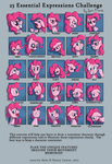 25 Expression Challenge Redo by DarkFlame75