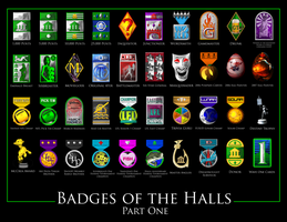 Badges of the Halls Part I by Slovman