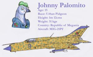 Johnny and his MIG-21PF by DingoPatagonico