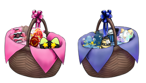 SS: Egg Baskets by Elistanel