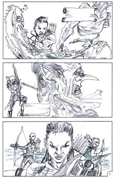 D and d book page 3 by jose rodrigues art by joselrodriguesart