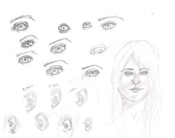 Nine eyes, seven ears and a face by Jaquina