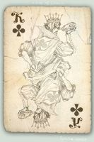 king of clubs by Quberon