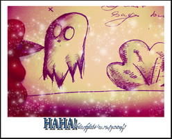 Cute Ghost 3 by Yahora