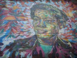 Pauli Murray by Rindelle