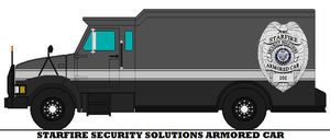 Starfire Security Solutions Armored Car by mcspyder1