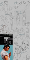 Gigantic Sketch Dump by DJCoulz