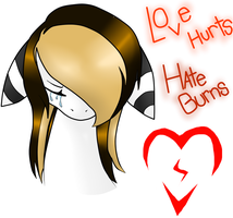 Love Hurts, but Hate Burns by Black-Rose-Emy