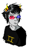 Sollux- Art trade for ~HatsuneMilku by KidCoca