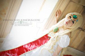 Magic Knight Rayeart Princess Emeraude by jaRoukaSama
