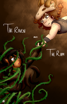 The Raven and The Ram by FueledByAnimation
