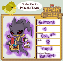 PKMN-Crossing App: Buttons by DixieSpritzer