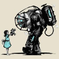 Bioshock Fan Art Ver.2 by Jaruzel