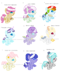 MLP Shipping Baby Adoptables OPEN by Puffy-Pony