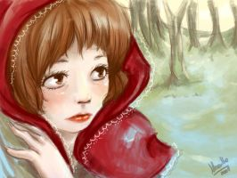 Little red riding hood by MagicalBunnies