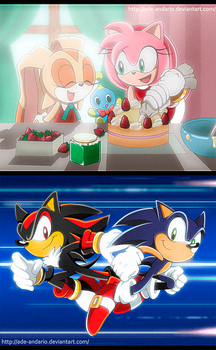Sonic Fake Screencaps by Ade-AndaRio