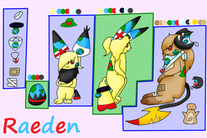 Raeden evo ref by Amelie-The-Pixie