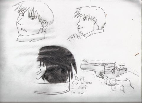 Roy Mustang Sketches by jk918