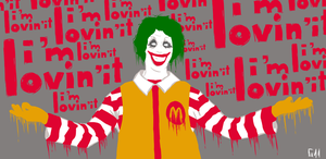 Joker McDonalds by Garcho