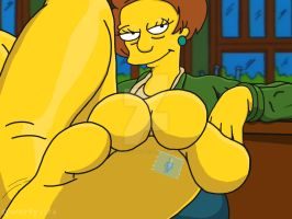 giantess simpsons by gonzo21stcentury