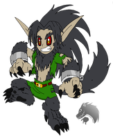 The Hyrulian Wolfboy def by Chibi-Tediz