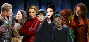 OUaT Not You're Ordinary Family by KimberlySueDeBalts