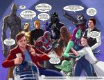 TLIID 222. Star Wars and Guardians of the Galaxy by AxelMedellin