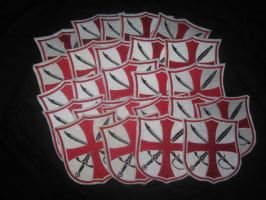 LARP Aid Custom Patches by WillowForrestall