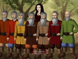 Snow White and the Seven Dwarfs by Kailie2122