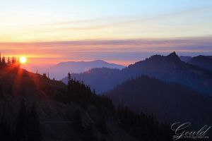 Olympic Sunrise by ThisWomanWanders
