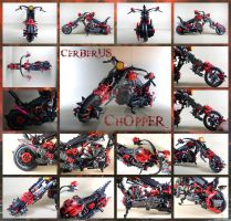 Bionicle MOC: Cerberus Chopper by Mana-Ramp-Matoran