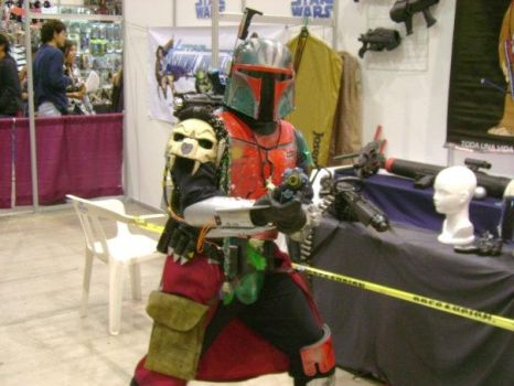 mandalorian cosplay by MARIO501