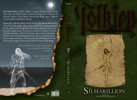 Silmarillion Cover WIP by FirePenguinMaster
