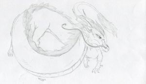 Haku from Spirited Away request! by aquatic4l