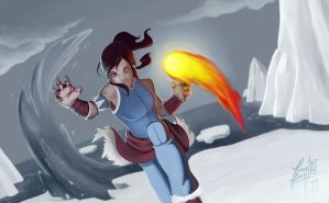 Legend Of Korra by Ivanobich