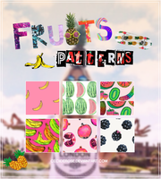 Fruits | Patterns by CeciiDeRose