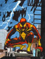 Iron spider by spyder8108