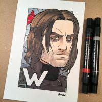 W is for Winter Soldier by D-MAC