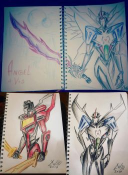 Starscream sketches by Logna