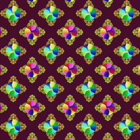 Stained Glass Medal Pattern by Humble-Novice
