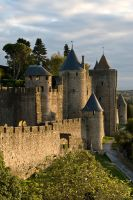 La Cite de Carcassonne - 1783 by Jaded-Paladin